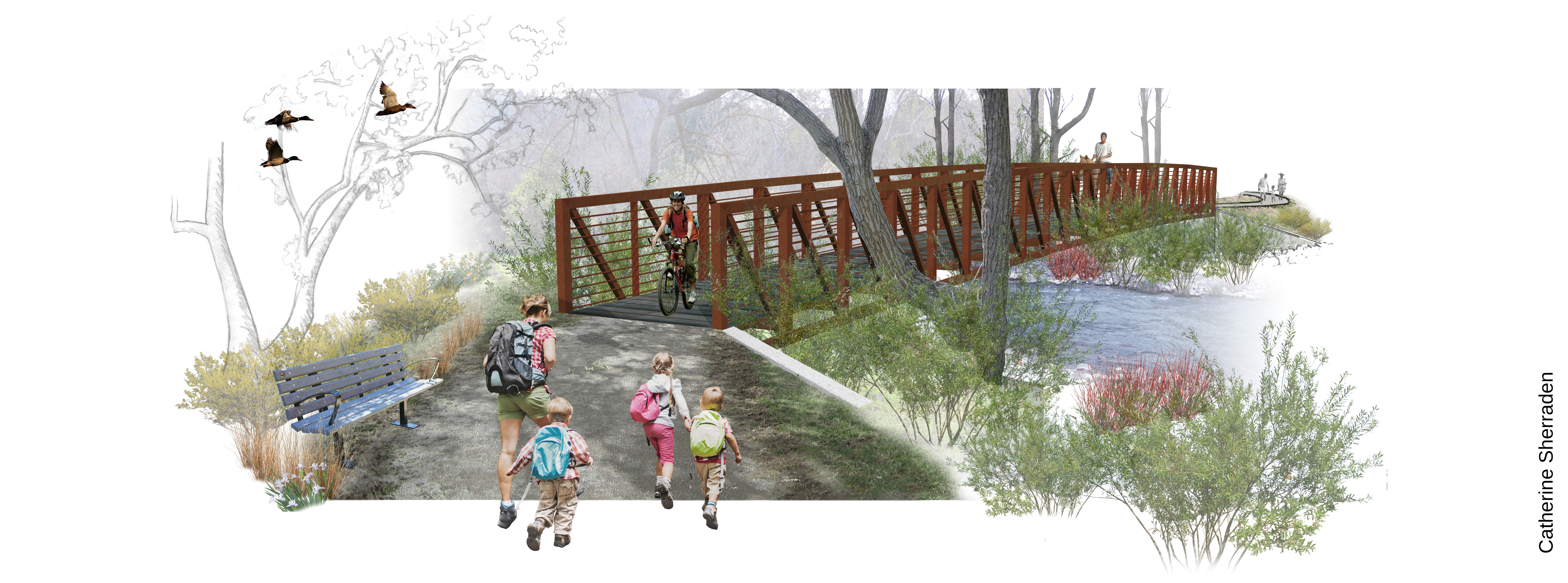 Connecting 5 Parks with 1 Trail